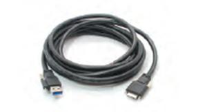 USB3.0 A-micro B kabel se šroubovacími konektory